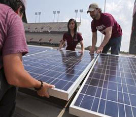 Texas A&M commercial featuring solar energy project receives Telly Award