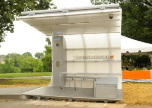 UT Selected for Launch of One-of-a-Kind Solar Secure Structure
