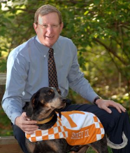 Dean Jim Thompson oversees the UT College of Veterinary Medicine