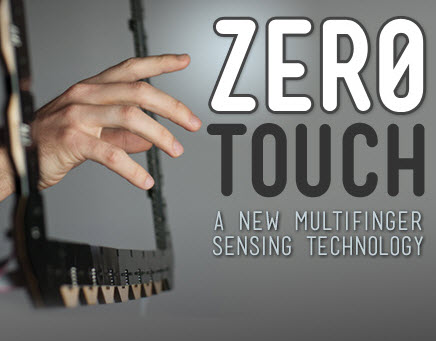 A new multifinger sensing technology created at Interface Ecology Lab