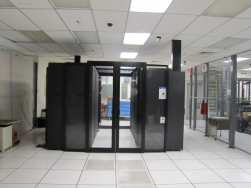 OSTI's new data center enclosure