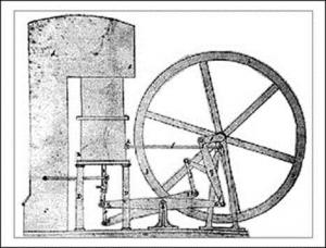 By Indian Institute of Technology, copy of image in Robert Stirling's patent of 1816. Wikimedia Commons