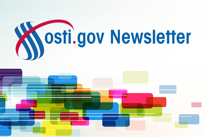 OSTI Newsletter