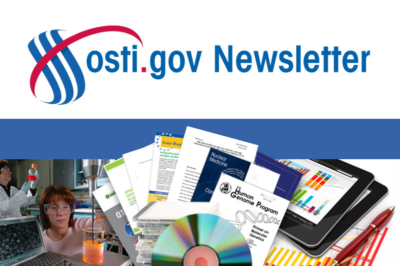 Read more about OSTI Newsletter