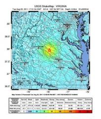 Earthquake Shake Map