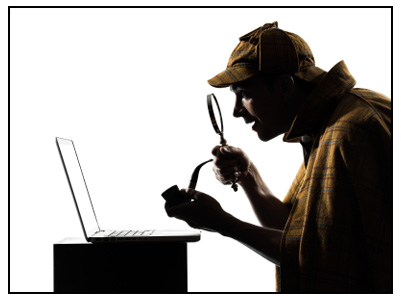 """Searching for """"clues"""""""