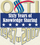 OSTI Sixty Years of Knowledge Sharing 1947-2007