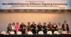 WorldWideScience Alliance agreement signed in Korea