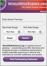 WorldWideScience Mobile