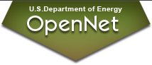 U.S. Department of Energy OpenNet