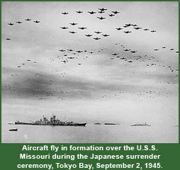 Image result for the surrender of japan on the uss missouri