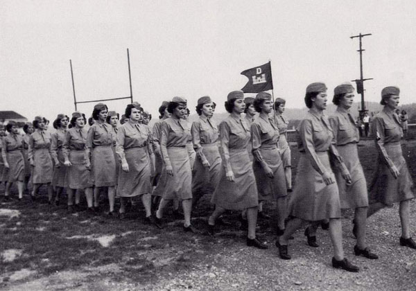 A WAC detachment at Oak Ridge, Tennessee