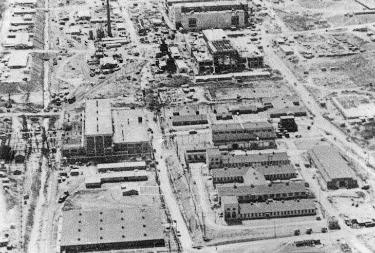 Manhattan Project Y 12 Construction Oak Ridge