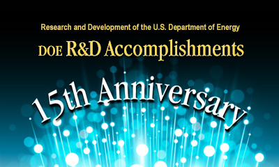r&d accomplishments 15th anniversary