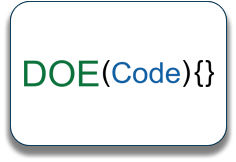 Log for DOE Code