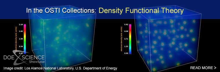 In the OSTI Collections: Density Functional Theory