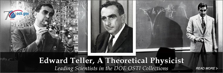 Edward Teller, A Theoretical Physicist