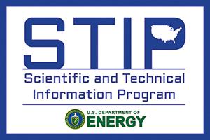 Scientific and Technical Information Program (STIP)
