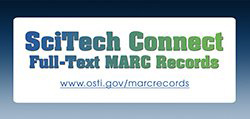 SciTech Connect Full-Text MARC Records