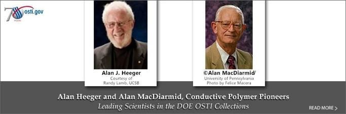 Leading Scientists, MacDiarmid and Heeger