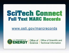 scitech connect full text marc records